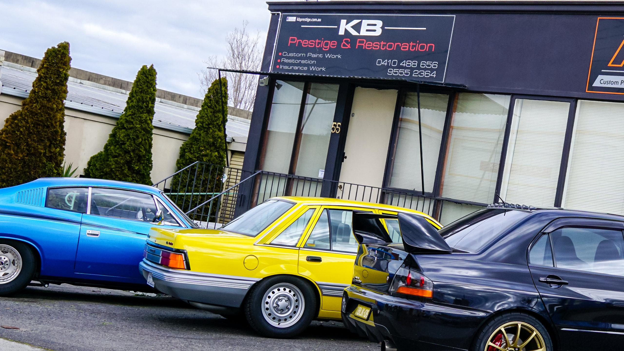 Header Image - KB Prestige & Restorations